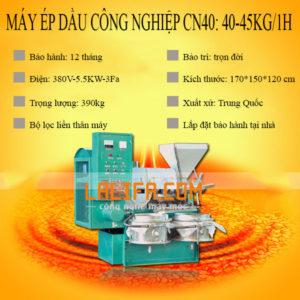 Máy ép dầu công nghiệp từ 25-80kg/h