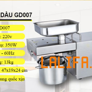 Siêu máy ép dầu gia đình GD-007 3-6kg/1h công nghệ Đức