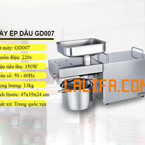 Siêu máy ép dầu GD-007 (Công nghệ Đức) 3-6kg/1h