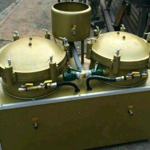 Máy lọc dầu khí 2 bình lọc