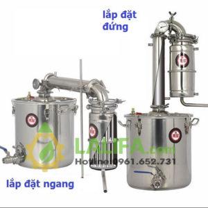 Nồi chưng cất tinh dầu bằng hơi nước 25 lit