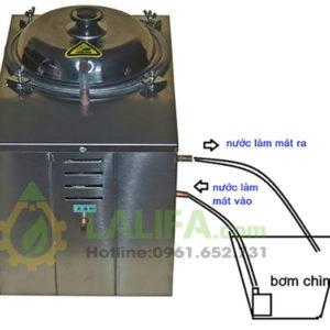 Máy chưng cất tinh dầu bằng hơi nước 5 lít