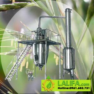 Bộ máy chưng cất tinh dầu công nghiệp 1000 lít