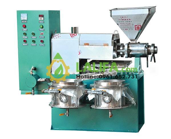 Tổng quan cấu tạo máy ép dầu 6YL-70