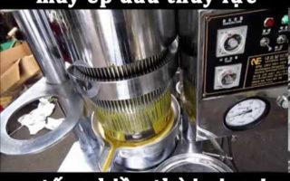 Máy ép dầu lạc thủy lực liệu còn phù hợp? Máy thay thế ra sao?