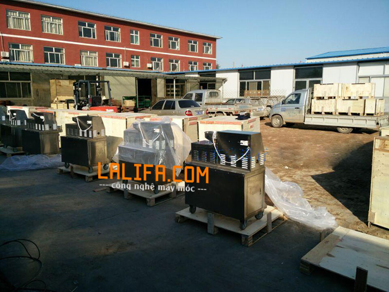 Đóng gói và vận chuyển từ nhà máy về LaLiFa
