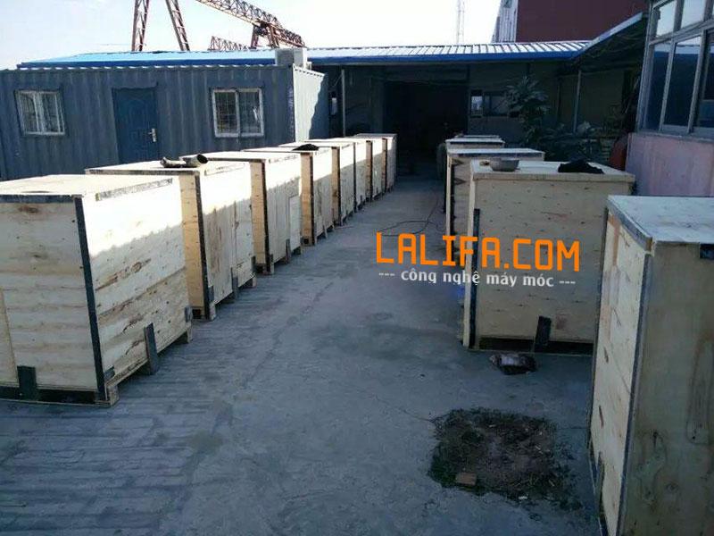 Nhà máy sản xuất máy ép dầu KD03