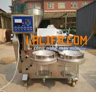 Máy ép dầu thực vật CN01 25-35kg/1h iNox 3040
