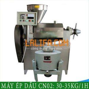 Máy ép dầu thực vật CN02 35-50kg/1h