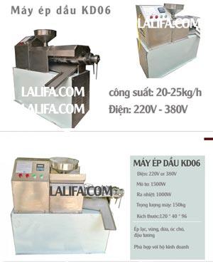 Máy ép dầu thực vật KD06 30-35kg/h0