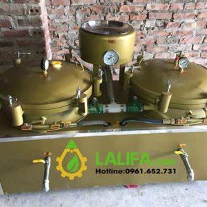 Máy lọc dầu thực vật nén khí LD05 2 bầu lọc
