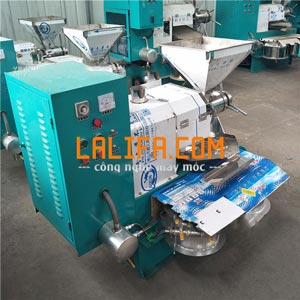 Máy ép dầu 2 bầu lọc 6YL-60 30-40kg/1h (điện 1Fa)0