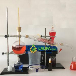 Bộ chưng cất tinh dầu 500ml (phòng thí nghiệm)