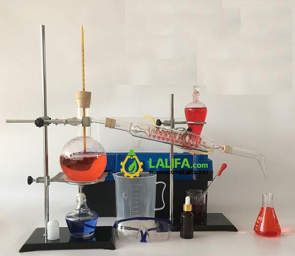 Bộ chưng cất tinh dầu 500ml (phòng thí nghiệm)0