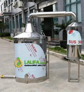 Bộ nồi chưng cất tinh dầu dung tích 470 lít