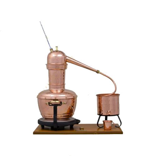 Máy chưng cất tinh dầu bằng hơi nước 6 lít (bằng đồng)0
