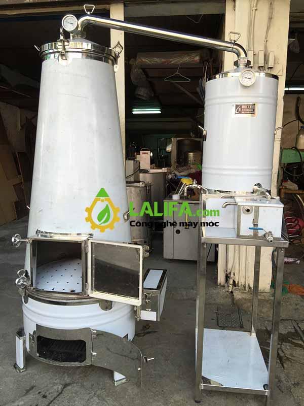 Bộ máy chưng cất tinh dầu bằng hơi nước Kuo Chuan – Taiwan0