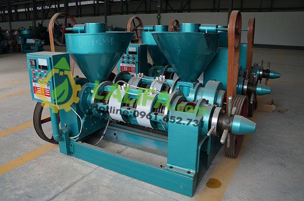 Máy ép dầu GuangXin YZYX120WK (80-100kg/1h – Điện 15Kw)0