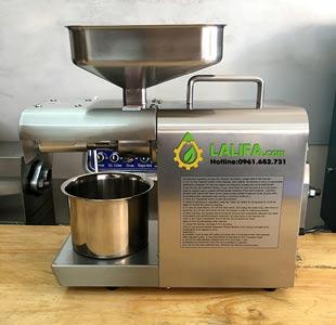 Máy ép dầu gia đình Lalifa 08 (công nghệ Đức) 3-6kg/h0