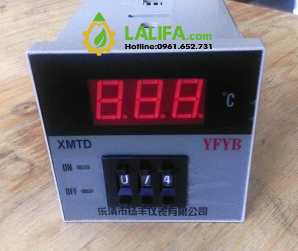 Đồng hồ đo và điều chỉnh nhiệt độ0