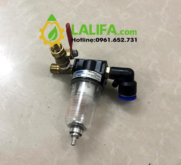 Van áp suất máy lọc dầu mini LD-020