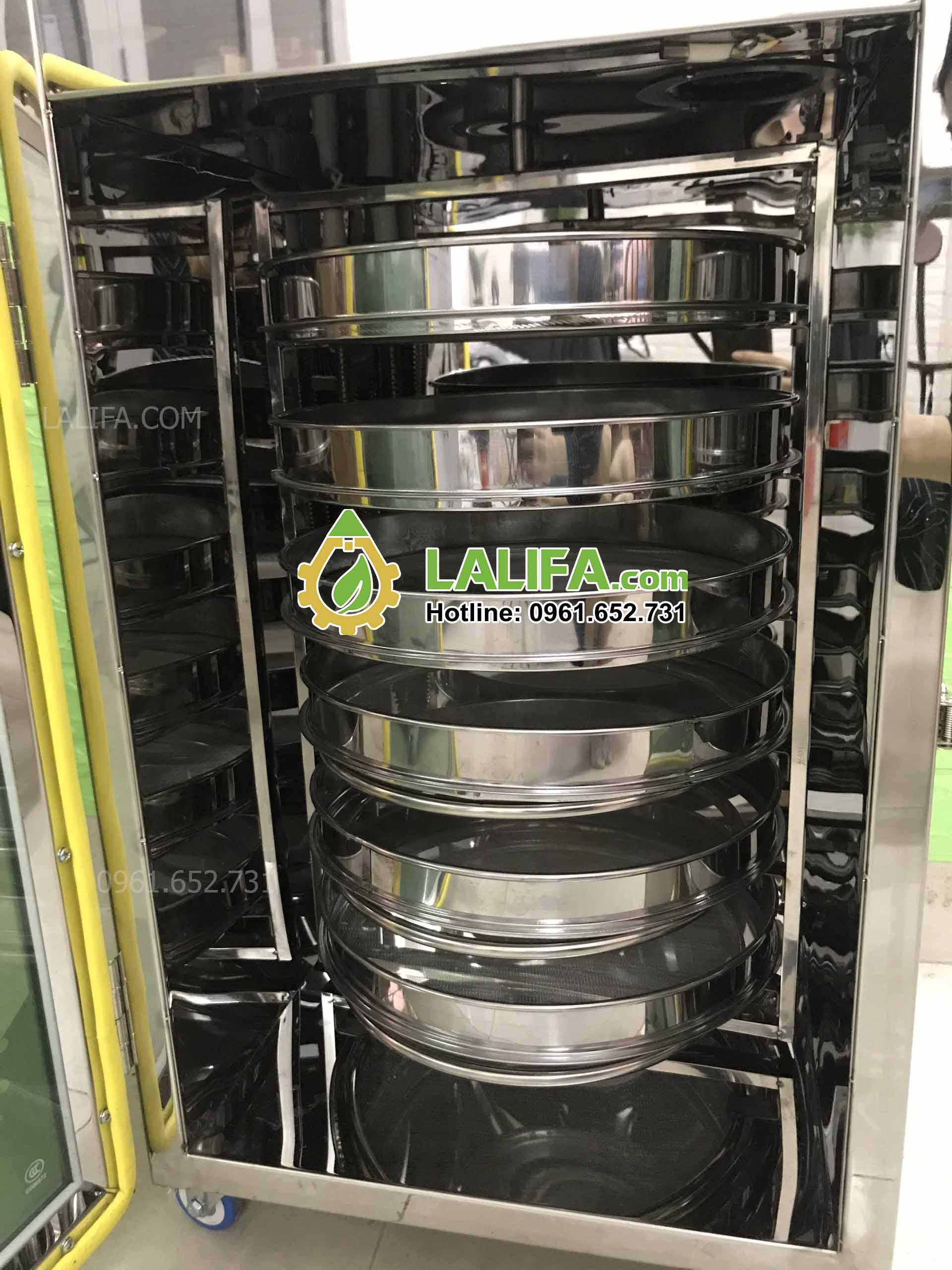 Máy sấy tủ sấy thảo dược hoa quả nông sản ngũ cốc 6 khay tròn