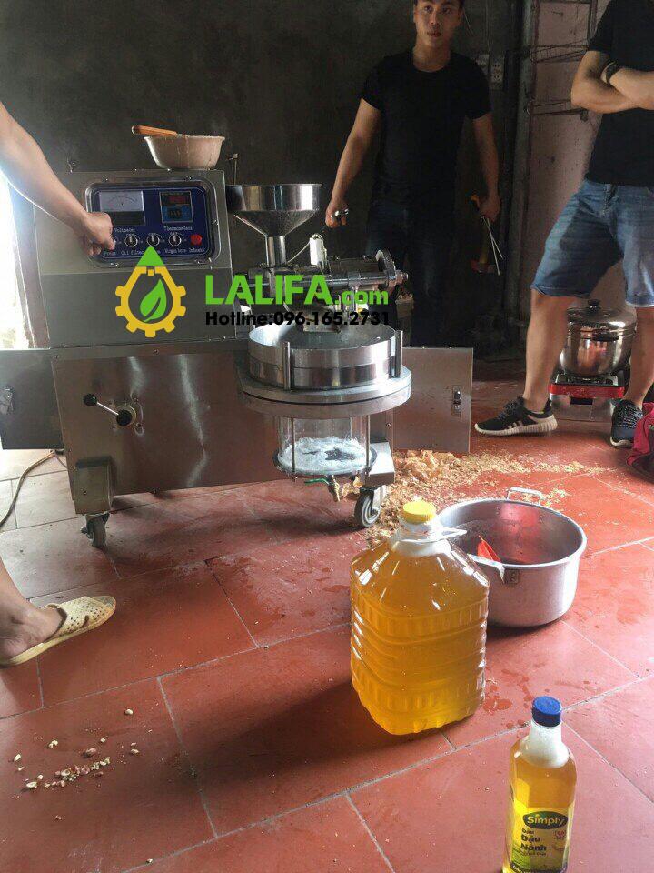 máy ép dầu lạc 1 bầu lọc lalifa23