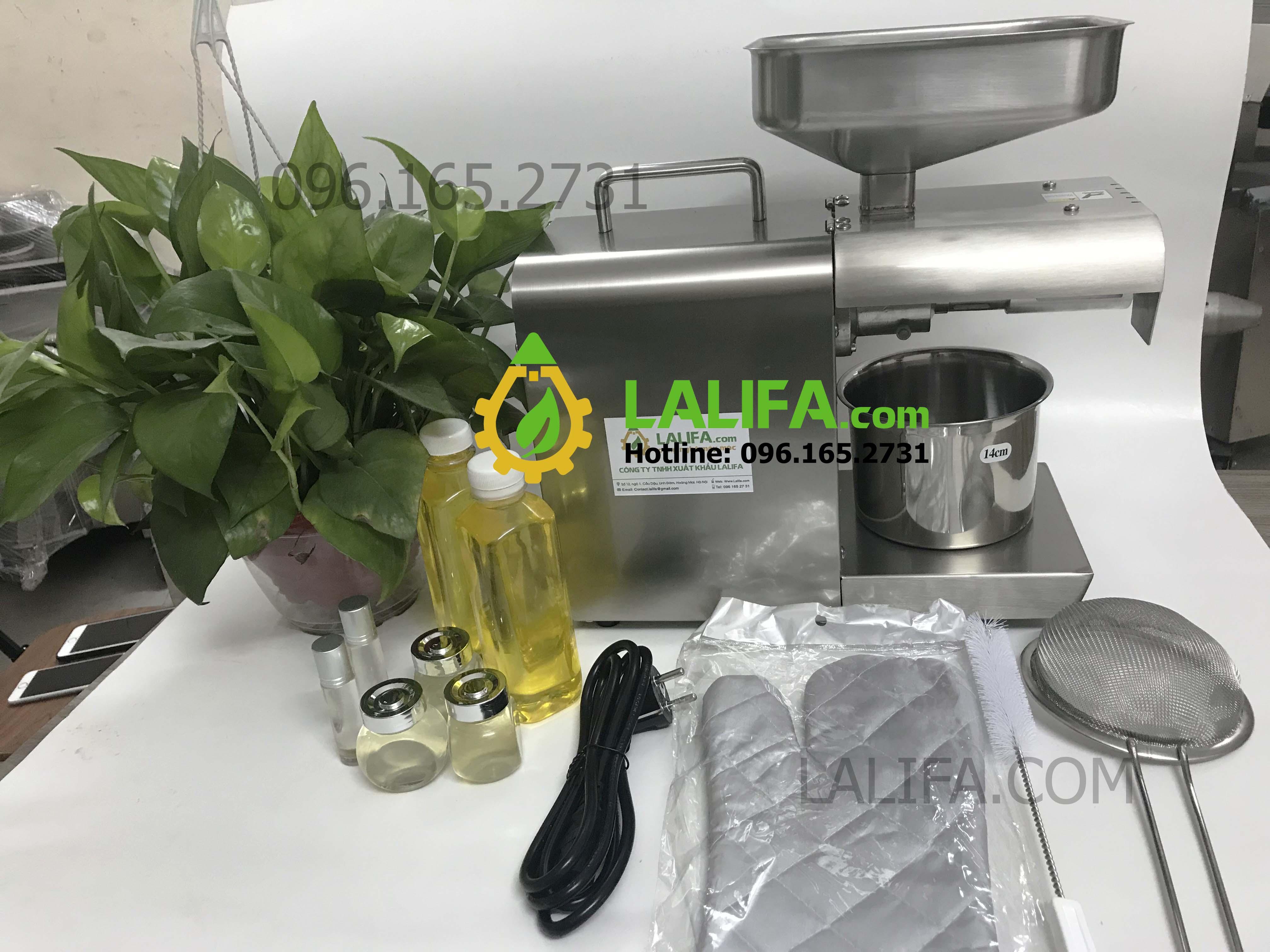 Máy ép dầu gia đình giá rẻ Lalifa8 - 8