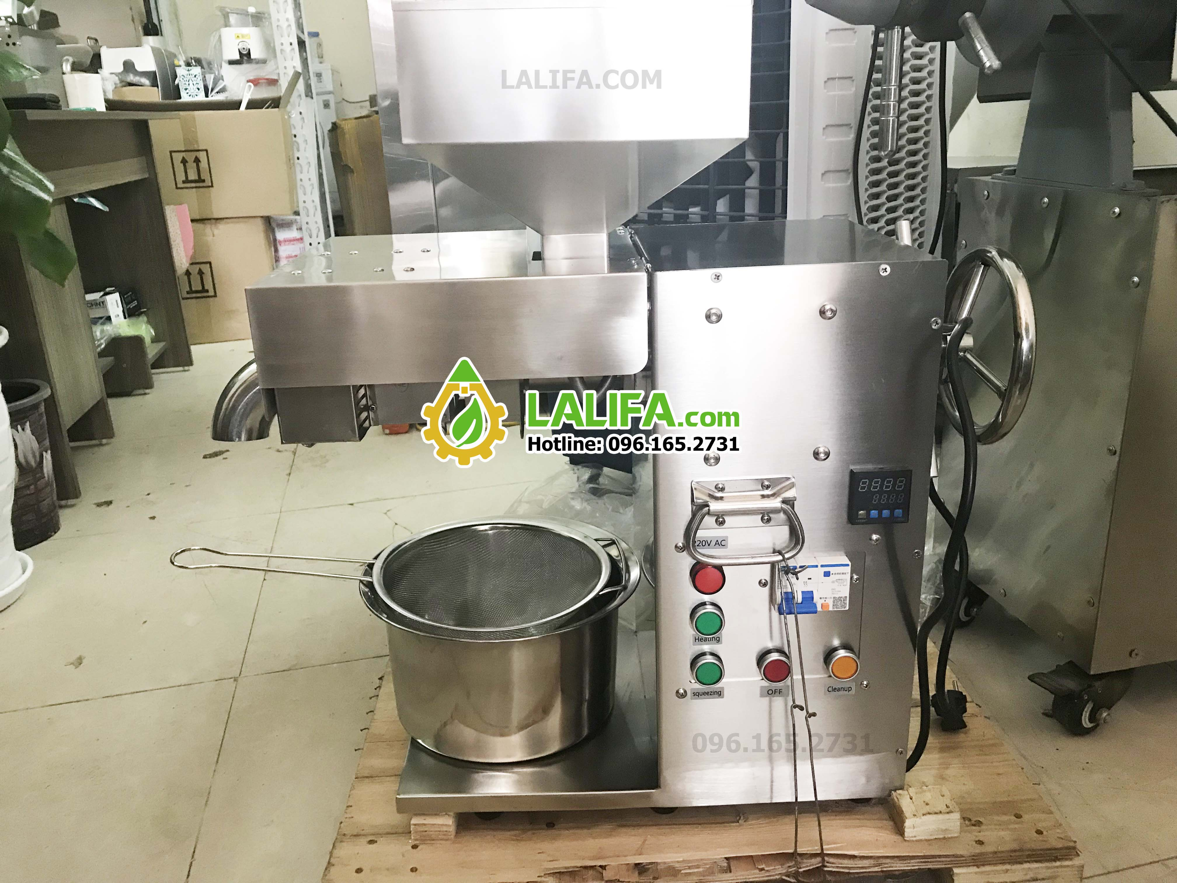 Máy ép dầu Lạc Lalifa21 (công nghệ đức)