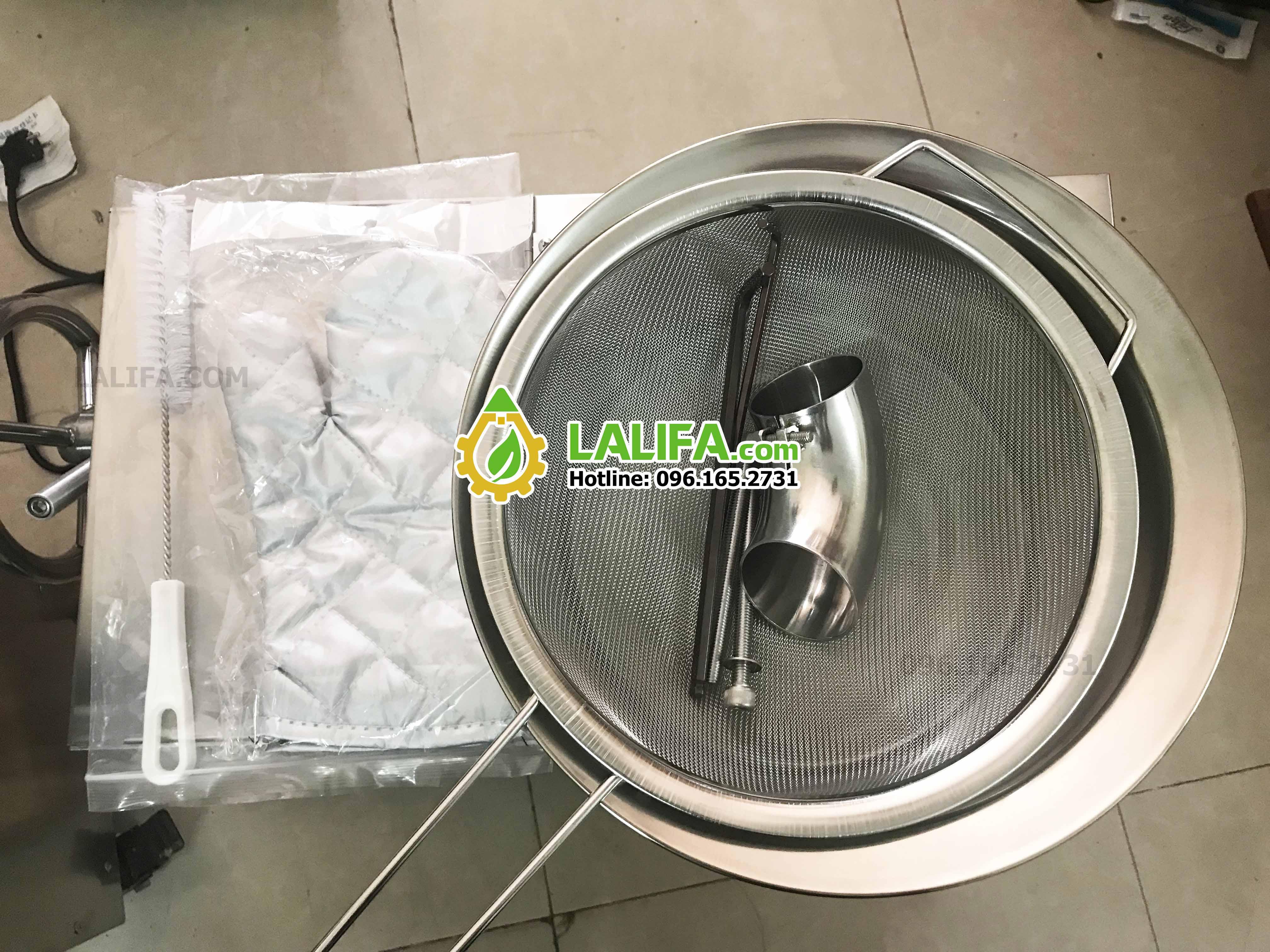 Máy ép dầu Lạc Lalifa21 10-20kg/h - 14