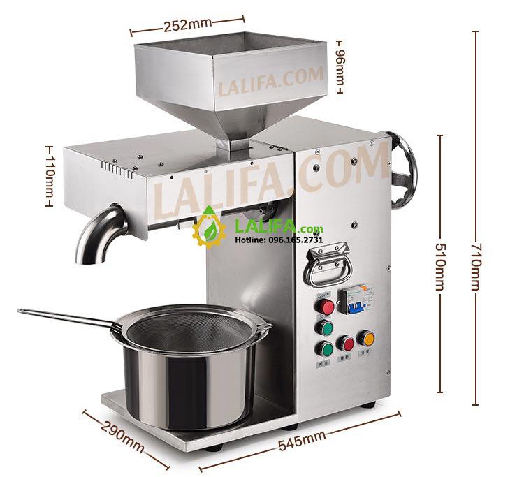Máy ép dầu Lạc Lalifa21 10-20kg/h - 16