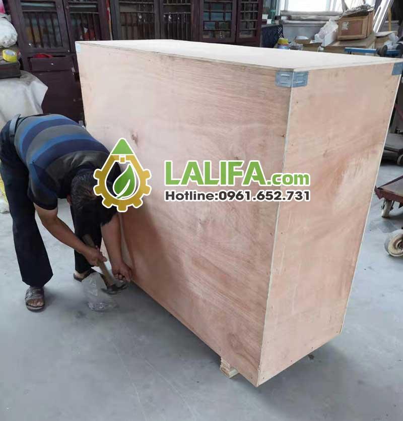 Đóng gói và vận chuyển xuất khẩu bằng đáy gỗ 10cm cực chắc chắn