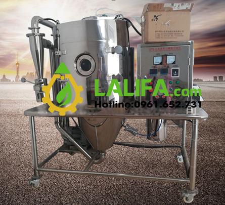 Máy sấy phun ly tâm – Máy chiết xuất tinh chất Curcumin từ củ nghệ  tươi0