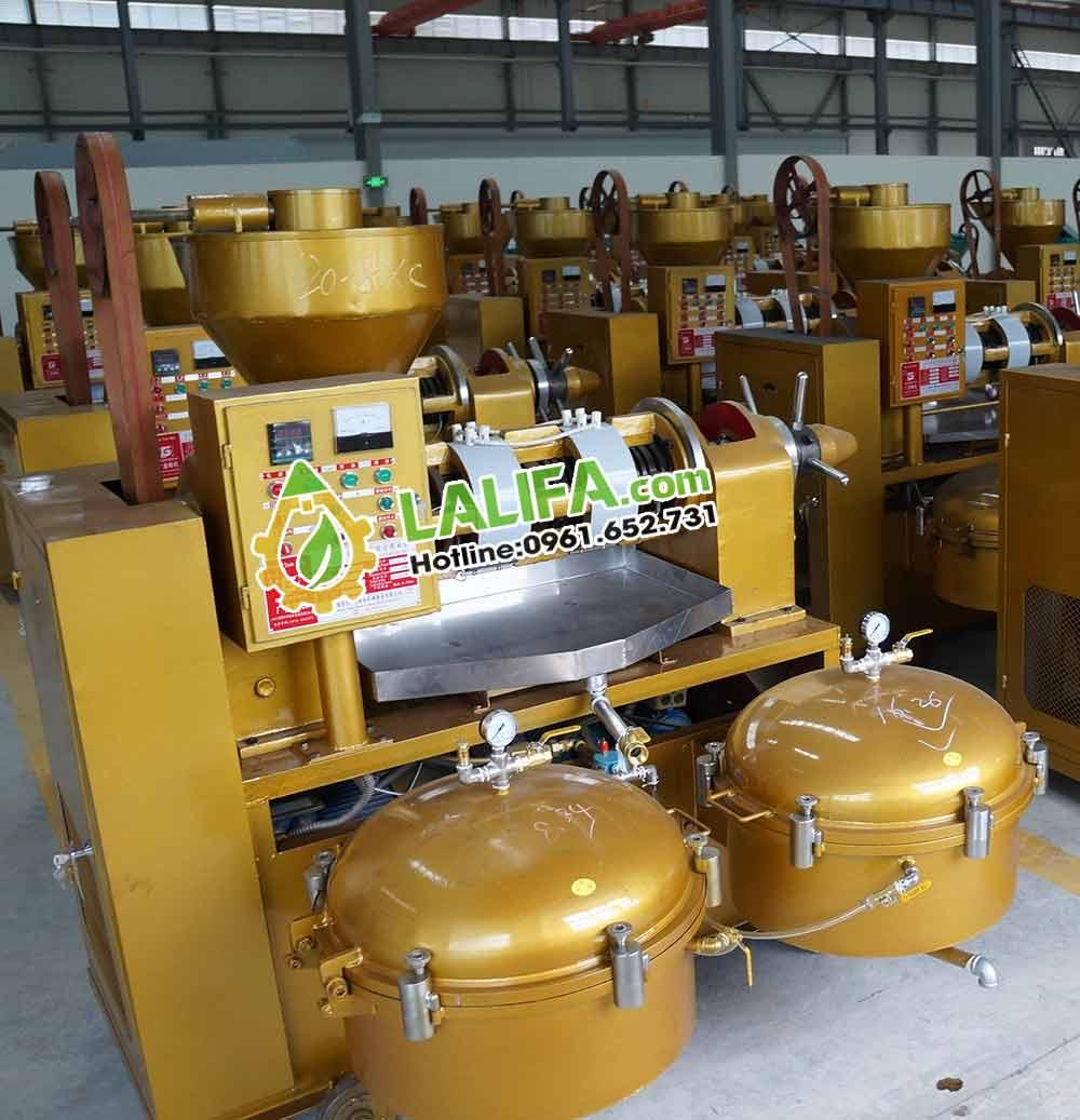 Máy ép dầu lạc công nghiệp guangxin lọc liền máy YZYXQ-1300