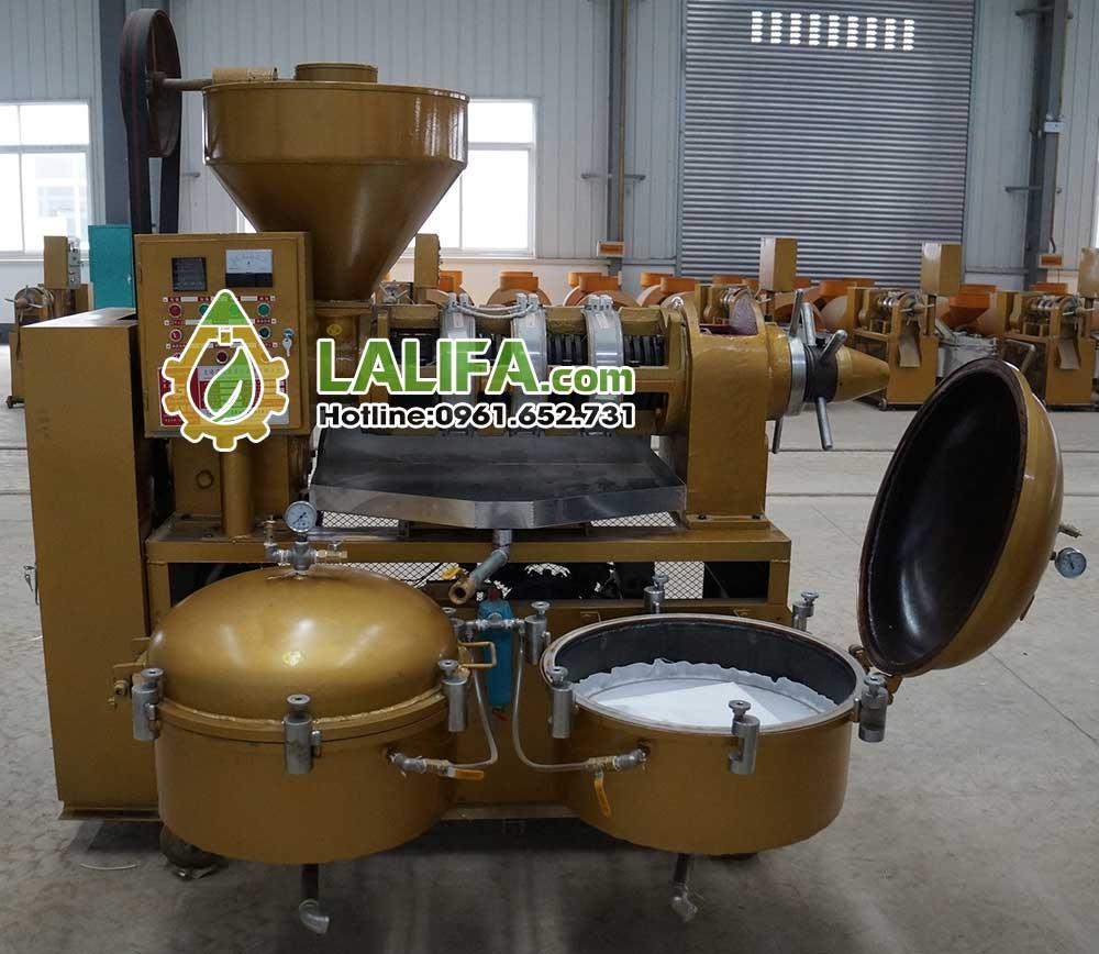 Máy ép dầu lạc công nghiệp guangxin YZYXQ-140-8(CJGX)0
