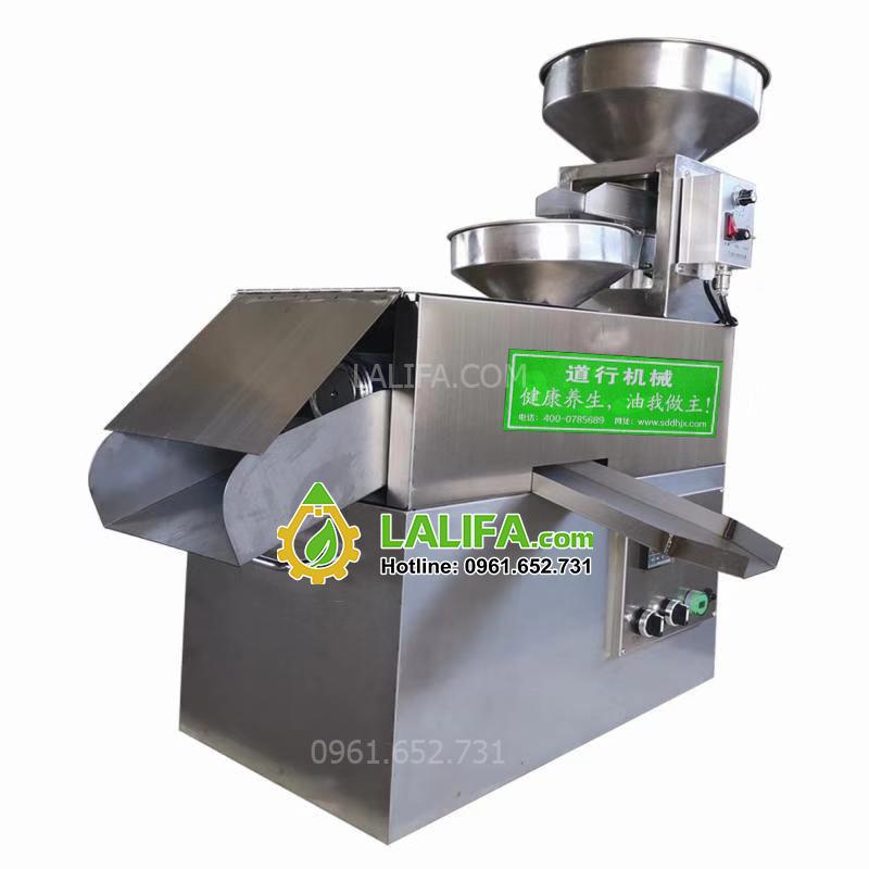 Máy ép dầu đậu nành, đậu phộng tự động công suất 10kg/1h LALIFA22