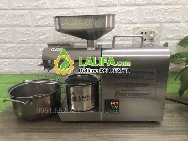 Máy ép dầu gia đình LALIFA11-NC có bảng điều khiển nhiệt độ0