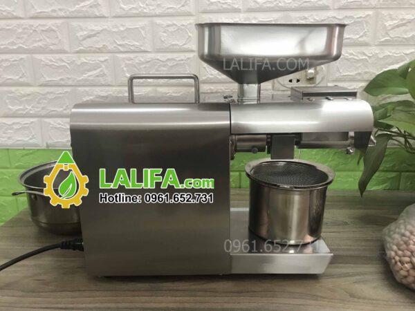 Máy ép dầu gia đình LALIFA11-NC có bảng điều khiển nhiệt độ