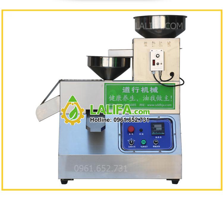 Máy ép dầu lạc, dầu thực vật công suất 15kg/1h LALIFA250