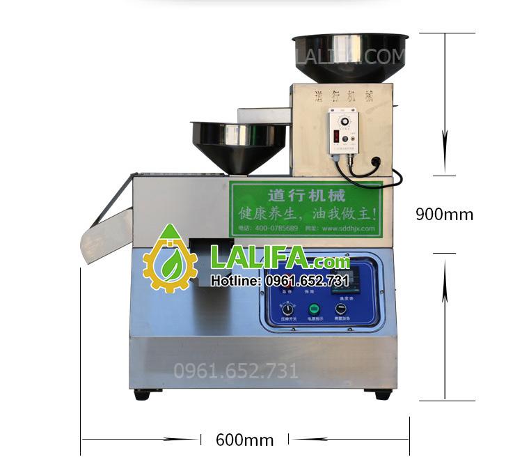 Máy ép dầu lạc, dầu thực vật công suất 15kg/1h LALIFA25