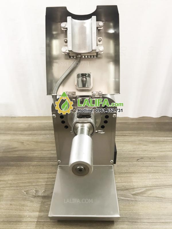 Máy ép dầu lạc LALIFA08-NC có bảng điều khiển nhiệt độ