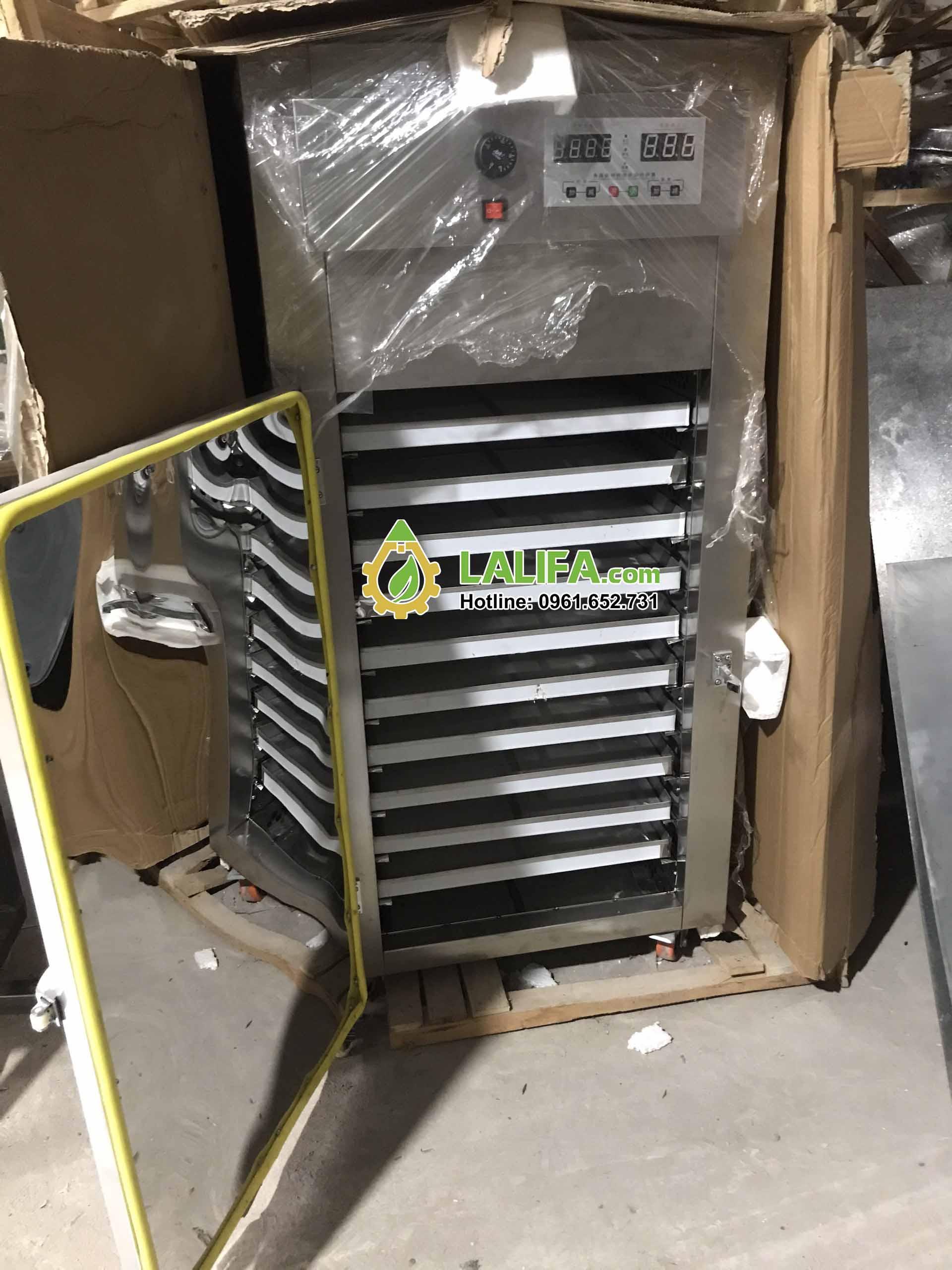 Máy sấy tủ sấy 10 khay vuông inox 3040