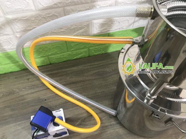 Nồi chưng cất tinh dầu 12 lít inox dùng bếp từ, bếp gas, than, củi