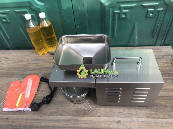 Máy ép dầu lạc dầu thực vật LALIFA03