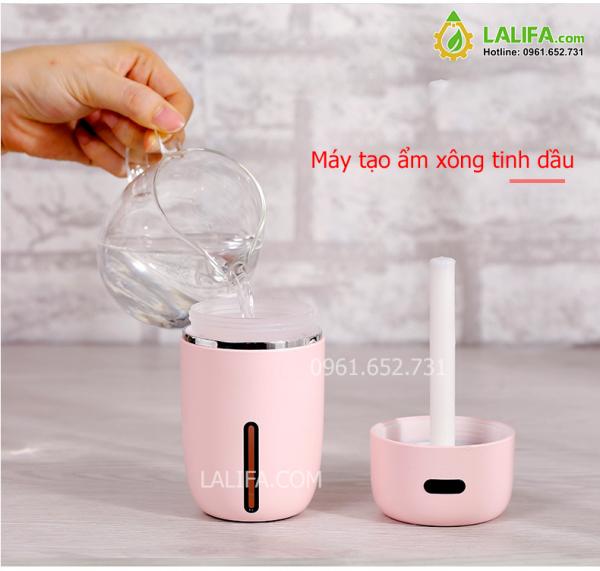 Máy tạo ẩm xông tinh dầu mini usb tiện dụng cho phòng ngủ phòng khách MTALA01