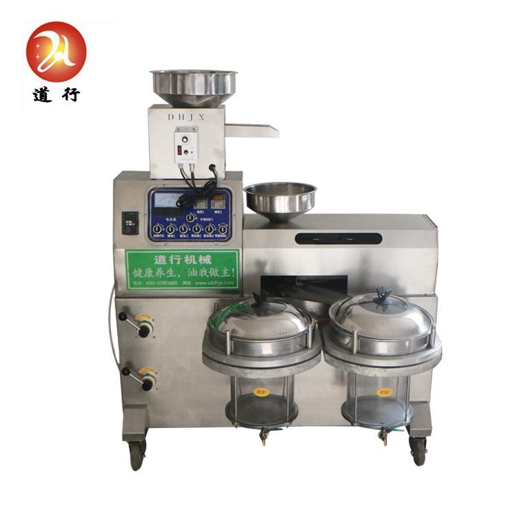 Máy ép dầu VCOIL-KD04 2 bầu lọc công suất ép 20-25kg/giờ0